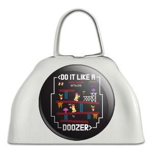 Agressif Do It Like A Doozer Fraggle Rock Métal Blanc Sonnaille Vache Bell Instrument-afficher Le Titre D'origine Prix ModéRé