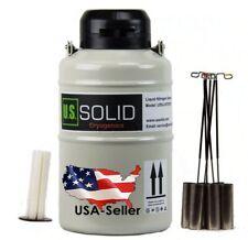 Solid 3 L Liquid Nitrogen Sperm Semen Container Cryogenic Ln2 Tank Dewar Strap