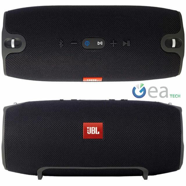Xtremee 2 Portable Boombox Bluetooth Wireless Waterproof Speaker Black//Chrome