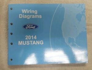 2014 Ford Mustang WIRING DIAGRAM Manual | eBay | 2014 Mustang Wiring Diagram |  | eBay