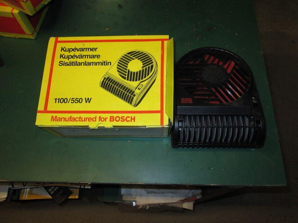 Motorvarmer og kabinevarmer, Bosch og Defa