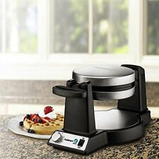 New Cuisinart FWM-25PC Belgian Flip Waffle Baker Maker Stainless Steel NonStik