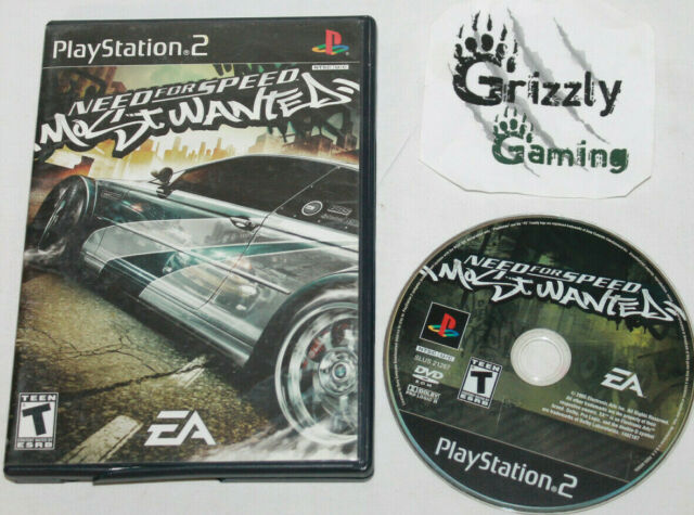 USED Need For Speed Most Wanted Sony PlayStation 2 (NTSC) Canadian Seller
