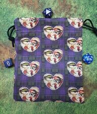 Harley Quinn and The Joker dice bag