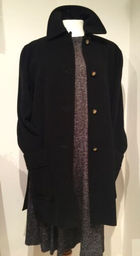 46 B Short Long Soft Blend Long Coat Jacket Preloved 'viyella' Blend Wool Soft Preloved Short Wool 46 Jacket B 'Viyella' Coat RqnZnH1