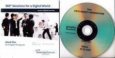 STEVE HACKETT Spectral Mornings (Steven Wilson 5.1 Mix) promo DVD check disc