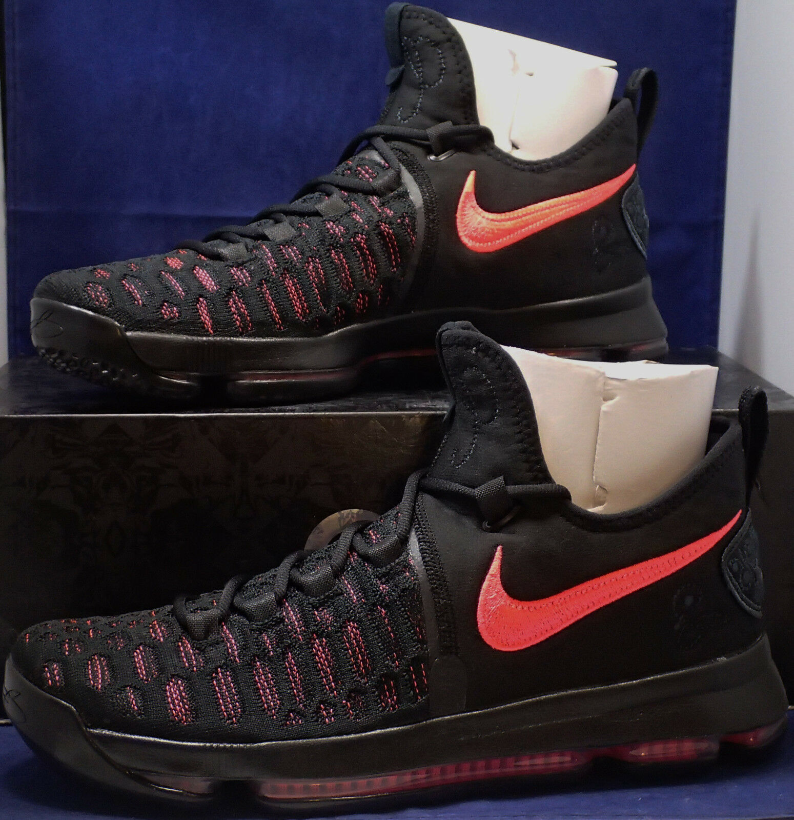 Nike Zoom KD 9 IX Premium Aunt Aunt Aunt Pearl Breast Cancer Awareness SZ 10.5 881796-060 166c8f