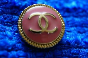 One-Stamped-Chanel-button-1-pieces-metal-cc-logo-0-8-inch-20-mm-peach