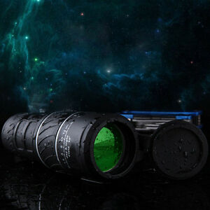 40X60 Zoom Portable HD OPTICS Night Vision Monocular Telescope Hunting Explore