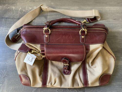 MULHOLLAND Shorthorn Endurance Weekend Bag Tan Can