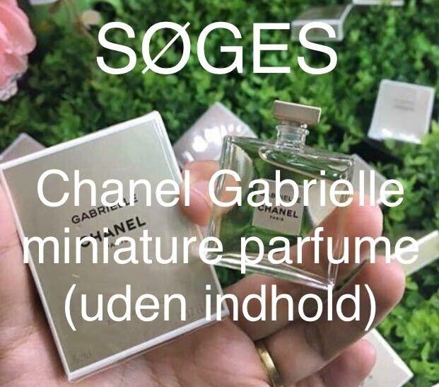 SØGES / KØBES  Chanel Gabrielle miniature parfu...