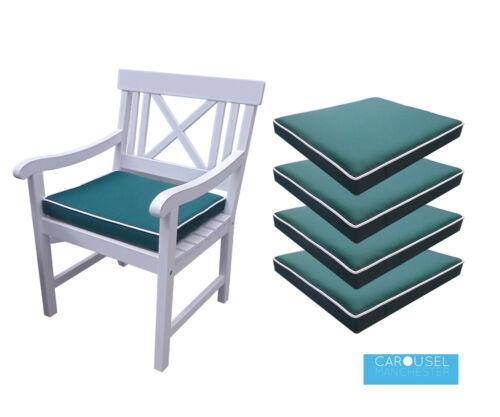 3 et 450x45vert Mousse à mémoire de chaise de jardin Coussin PadPass de 1 2