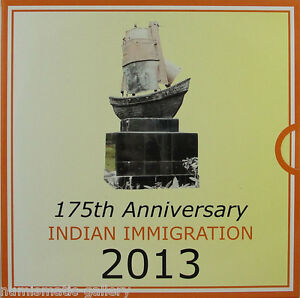 GUYANA-2000-2013-PF-175th-INDIAN-IMMIGRATION-Sailing-Ship-Mint-packaging