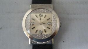 Very-Rare-Art-Deco-Longines-14K-Solid-WG-Diamonds-Dial-Fixed-Lugs-Dress-Watch