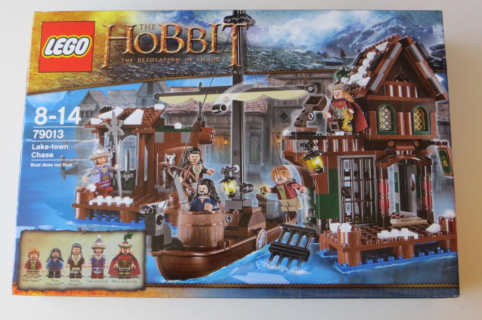 Nuovo Sealed Lego The Hobbit  79013 Lake town Chase