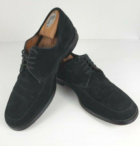 BRUNO MAGLI Size 10 Mens Barton Leather Suede Oxfo