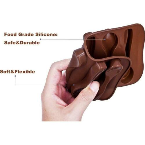 Silicone Spoon Baking Mold Chocolate Biscuit Candy Jelly DIY Mold Baking Tool.
