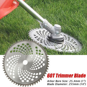 10-039-039-60Teeth-Lawn-Mower-Grass-Eater-Trimmer-Head-Brush-Cutter-Weeds-Blade-Razor