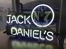 13''x7''Jack Daniels Neon Sign Light Beer Bar Home Decor Wall Poster LED Display