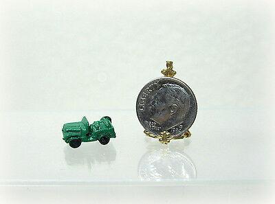 DOLLHOUSE Miniatures 1:12 Scale Miniature Corn Cob Pipe Painted Cast Metal