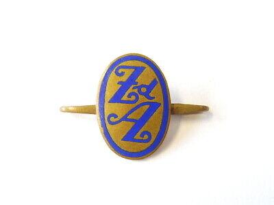 3419 A Zentralverband Der Angestellten Mitgliegsabzeichen An Spange