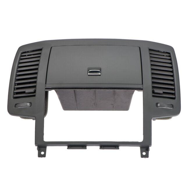 05-06 Nissan Altima Center Dash Vents Storage Radio Bezel Trim
