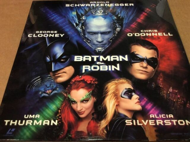 Batman Robin (Laserdisc, 1997) for sale online | eBay