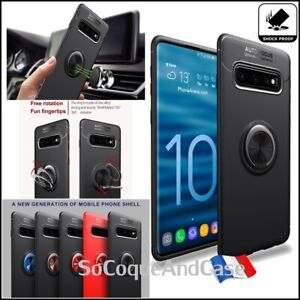 Magnetic-cover-case-finger-ring-babiole-case-samsung-galaxy-s10-5g-s10