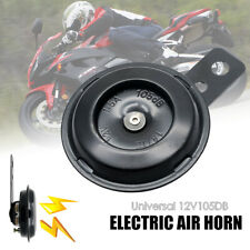 12V LOUD 115 DB BLACK REPLACEMENT HORN WITH BRACKET 12 VOLT FOR MOTORCYCLE BIKE