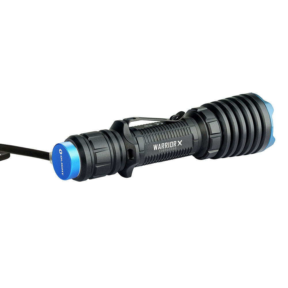 Olight Warrior X 2000 Lumen Rechargeable LED Rechargeable Lumen Flashlight, 560-meters Long Throw f39150