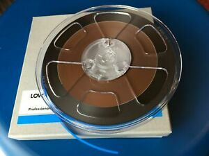"1/4"" full track all-in-one calibration tape 3.75ips 185-257nWb/m NAB/CCIR-EQ"