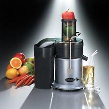 Gastroback 40123 Design Juicer Schwarz-Edelstahl Entsafter 750 W