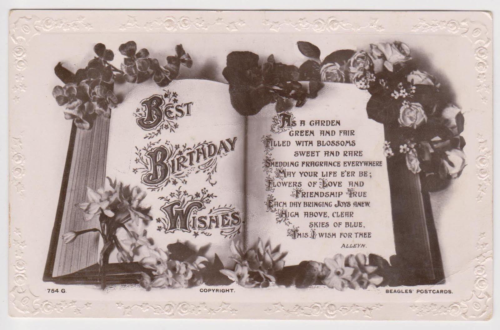 Art ez75 1910 au postcards sydney birthday wishes kristyandbryce Image collections