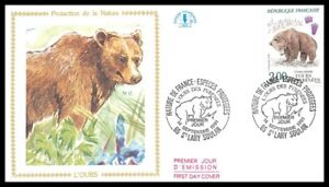 France-L-039-OURS-1991-FDC