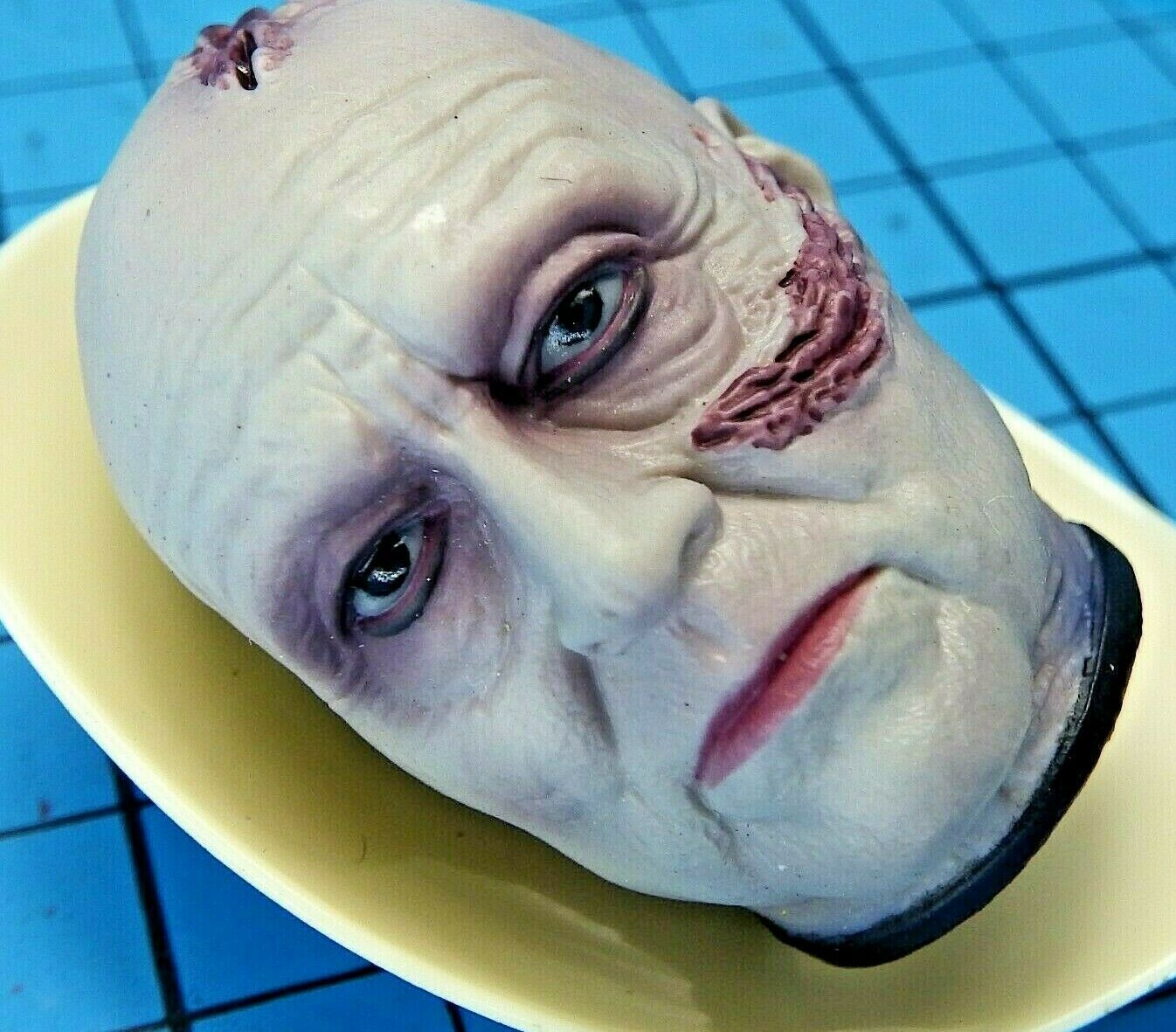 Medicom 1 6 Guerra De Las Galaxias Darth Vader 2.0 figura-desenmascarado Vader cabeza esculpida