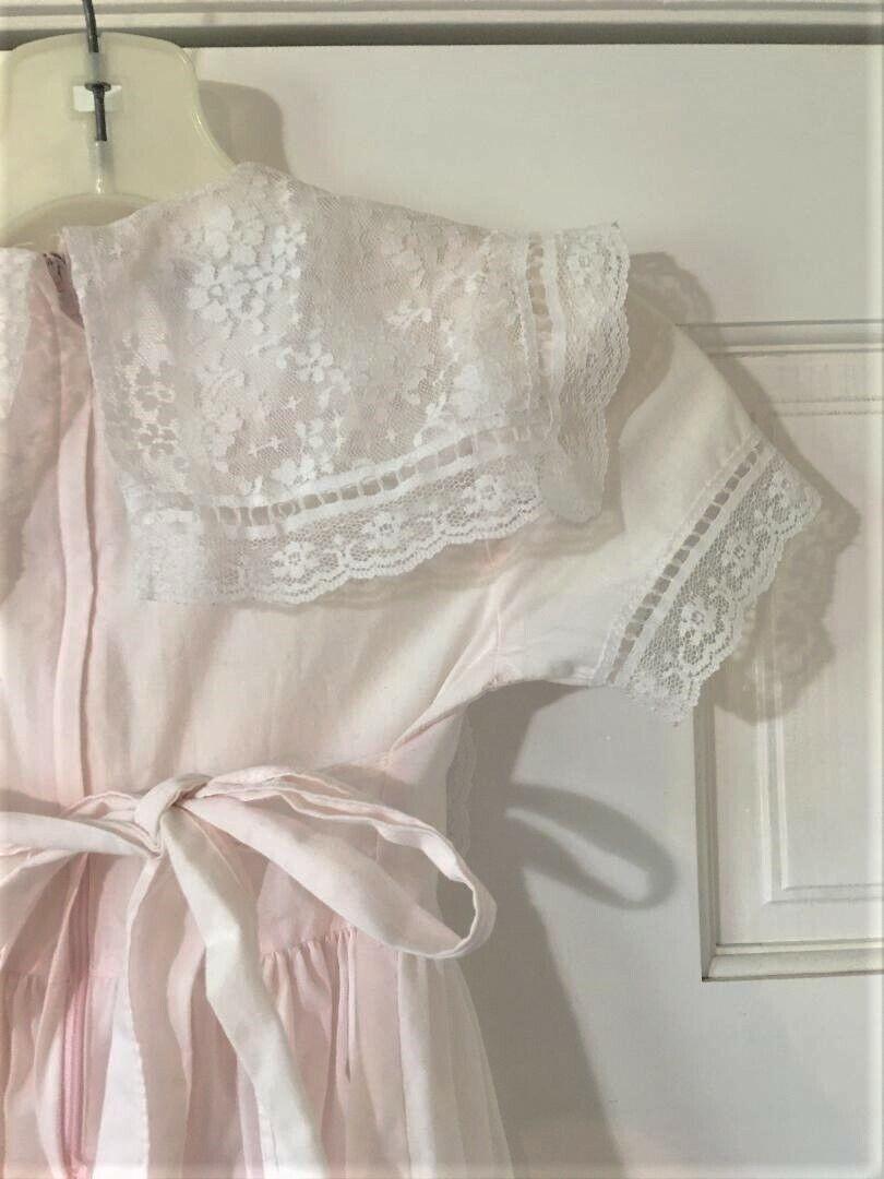 Vintage Girls Toddler Size 5 Gunne Sax Dress Prai… - image 7