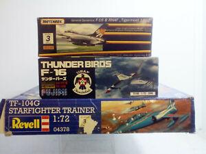 Plastic-Aircraft-Kits-Scale-1-72-USA-Fighters-Fujimi-Revell-rare-items