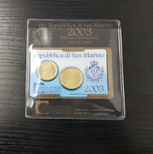 Saint-Marin MINIKIT Officiel 20 Cent & 50 Cent 2003