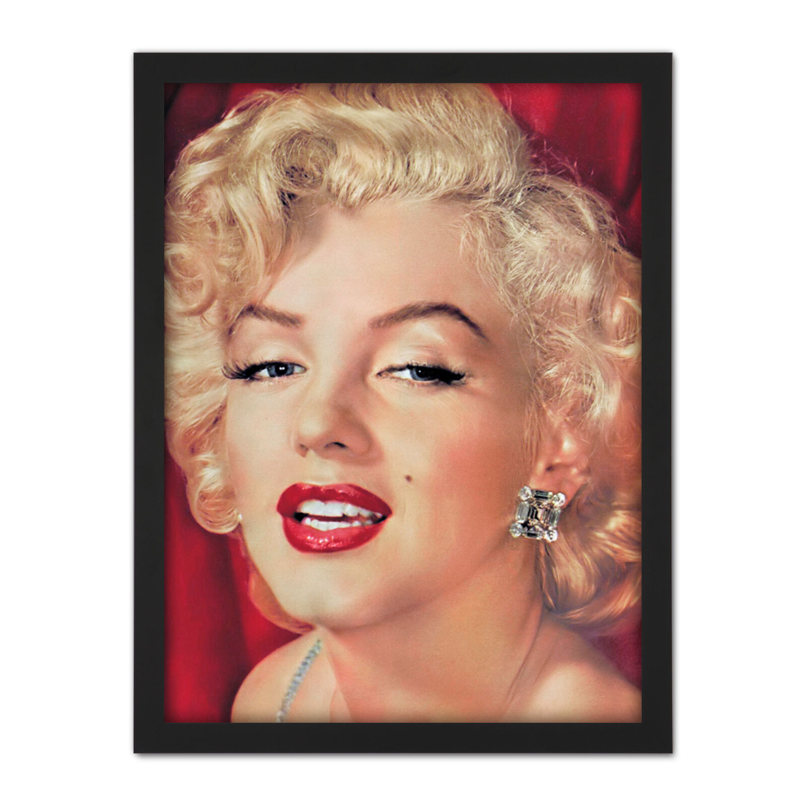 Portrait Promo Movie Actress Marilyn Monroe Photo Framed Wall Art Print 18X24 In
