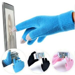 Men-Soft-Knit-Screen-Gloves-Texting-Capacitive-Smartphone-Warm-Winter