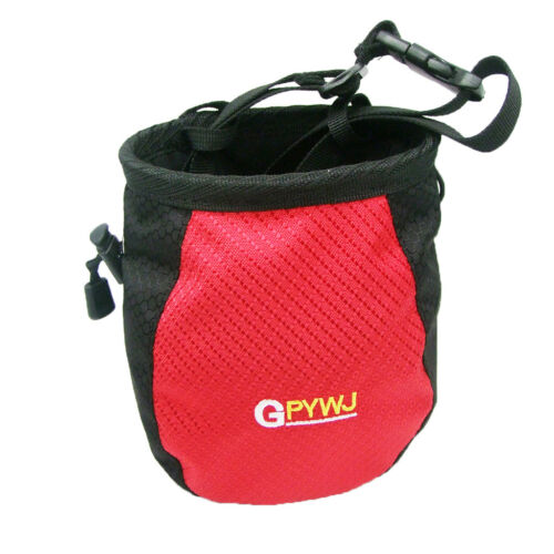Outdoor Rock Climbing Chalk Bag Waterproof Polyester Magnesium Powder Pouch