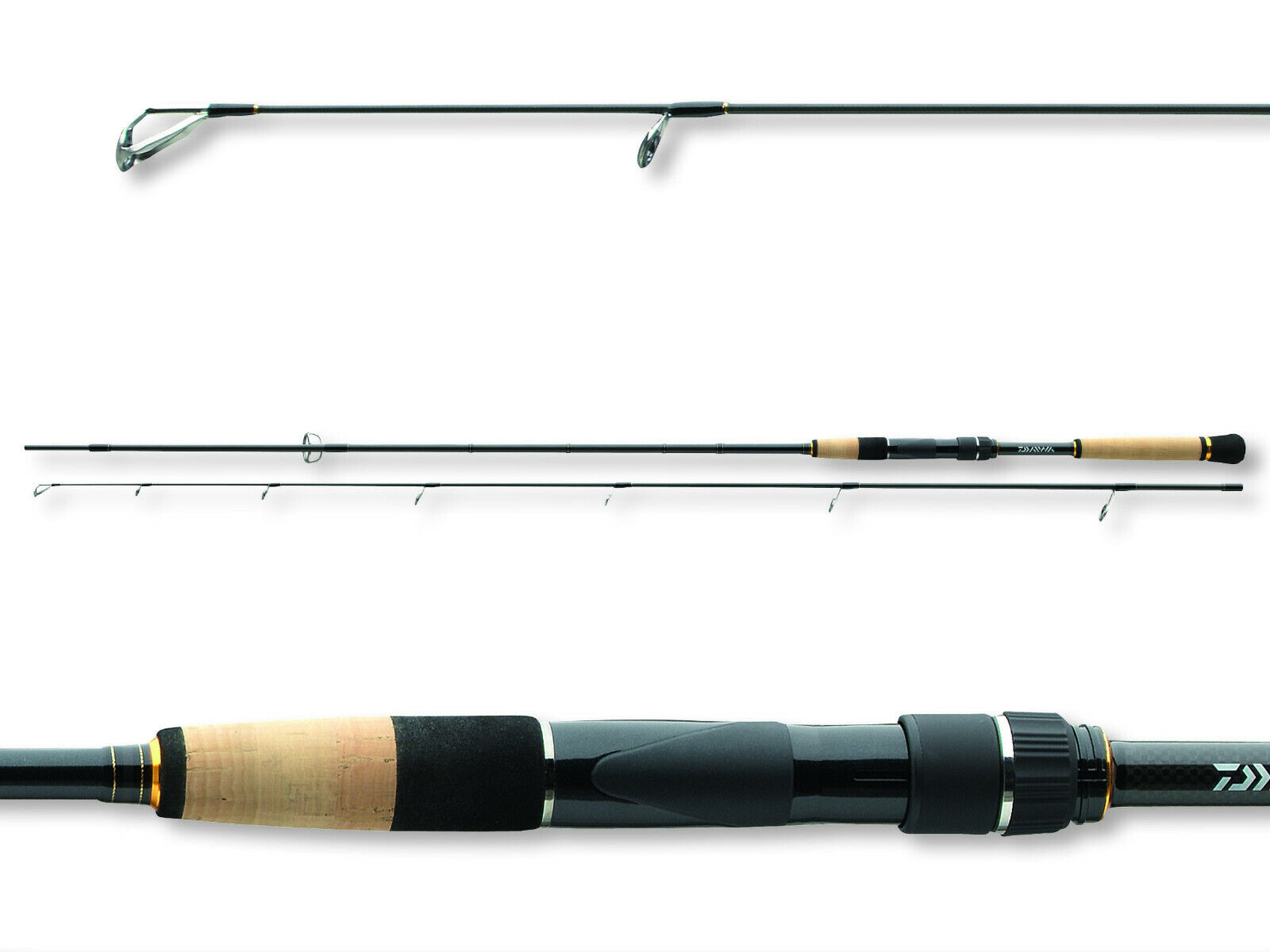 DAIWA Morethan Morethan Morethan SHAD Attack 2,70m 30-70g Spinning Gomma Pesce stadia 37173f