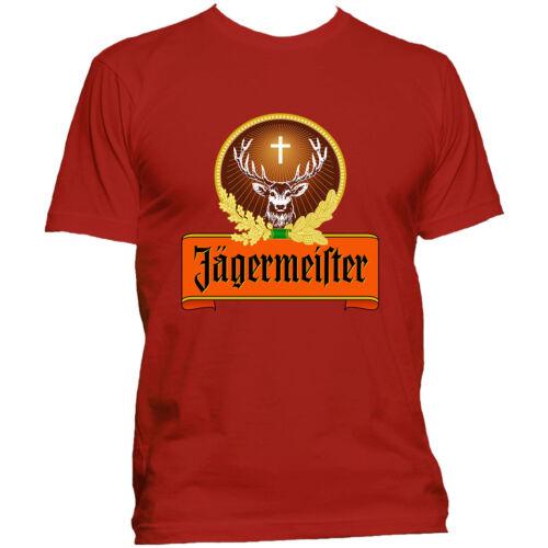 Best Jager Bomb Shot Jagermeister Logo Germany Liquor Cocktails T-shirt All Size