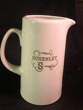 "Schenley Whiskey Advertising 9"" Pitcher by Hall China Co."