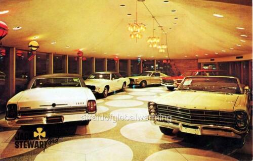 Jack Stewart Ford Photo Chicago Illinois 1960s Automobile Dealership