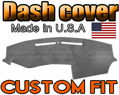 Fits 2011-2014 DODGE  AVENGER  DASH COVER MAT  DASHBOARD PAD  //CHARCOAL GREY