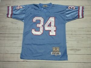 brand new 705be 9f355 Details about PLAYERS OF THE CENTURY EARL CAMPBELL TEXAS,HOUSTON OILERS  JERSEY