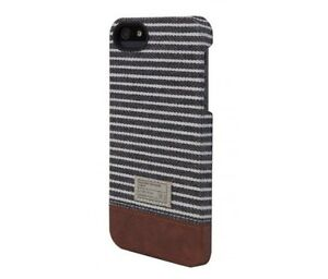 Hex-Focus-Hard-Shell-Case-Snap-Cover-for-iPhone-SE-iPhone-5S-Black-Grey-Stripe