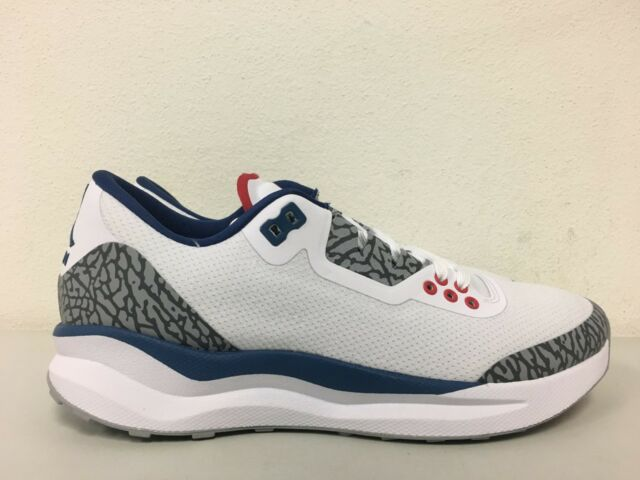 competitive price 3ba93 46f6f Nike Air Jordan Zoom Tenacity 88 Running Shoes 3 III Retro True Blue ...