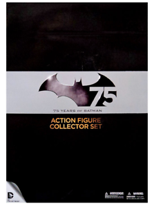DC Batman 75 Years Collectors Deluxe Box Set 2 Acción Figuras